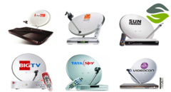 Get Best new Dish TV or Tata Sky, Videocon D2h connection online at competitive prices.