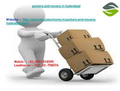 Packers and movers in Bangalore # http://www.relocateurhome.in/