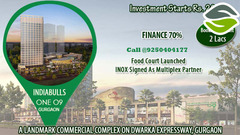 Indiabulls ONE09 Retails Shops In Gurgaon