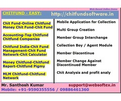 Chit Fund Software, Chit Fund System, Chit Value, Chit Fund Rules