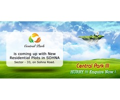 Plots in South of Gurgaon @ 72 Lacs - Central Park | 9250404178
