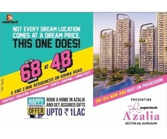 2 BHK Apartments @ 48 Lacs in Sector 68 Gurgaon | 9289221168