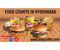 Food courts in Hyderabad