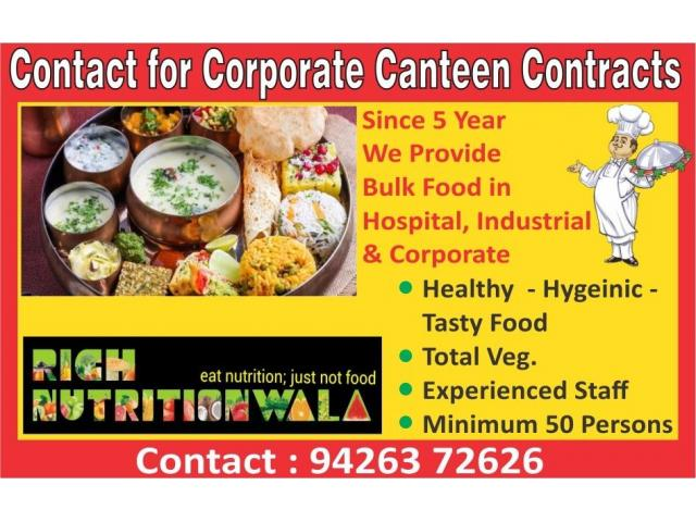 Corporate Canteen Tiffin Services in Ahmedabad