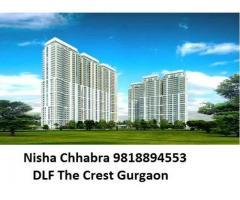 Nisha Chhabra 98l8894553  DLF The Crest Apartments For Sale Possession of Project