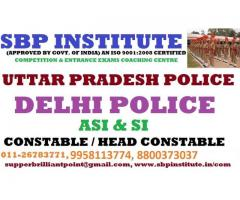 Delhi Police Constable / S.I Coaching Classes Delhi –Sbp Institute