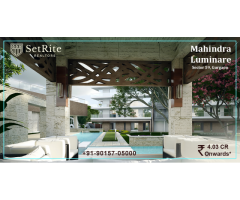 Mahindra Lifespaces Luminare Apartments Resale Price List +91-90157-05000